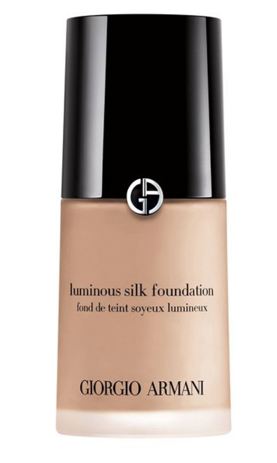 "<strong>Giorgio Armani Beauty Luminous Silk Foundation</strong>, $72, <a href=""sephora.ca"" target=""_blank"">sephora.ca</a><br>