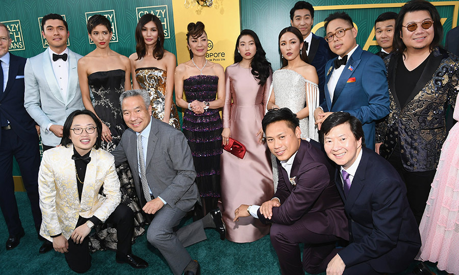 The cast of <em>Crazy Rich Asians</em> turned up the Old Hollywood glamour at the film's Los Angeles premiere at the TCL Chinese Theatre on Tuesday (Aug. 7)! Not only is the movie based on Kevin Kwan's beloved book series filled with luxe costumes and jaw-dropping settings, but it's also the first film to focus on an Asian-American cast in decades - so it's sure to be one for the history books! 