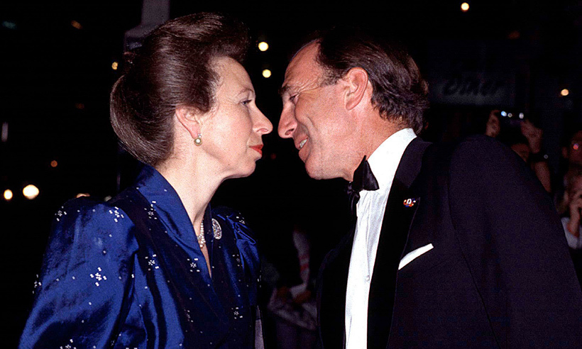 In 1994, Princess Anne and Captain Mark Phillips were the perfect embodiment of the look of love! 