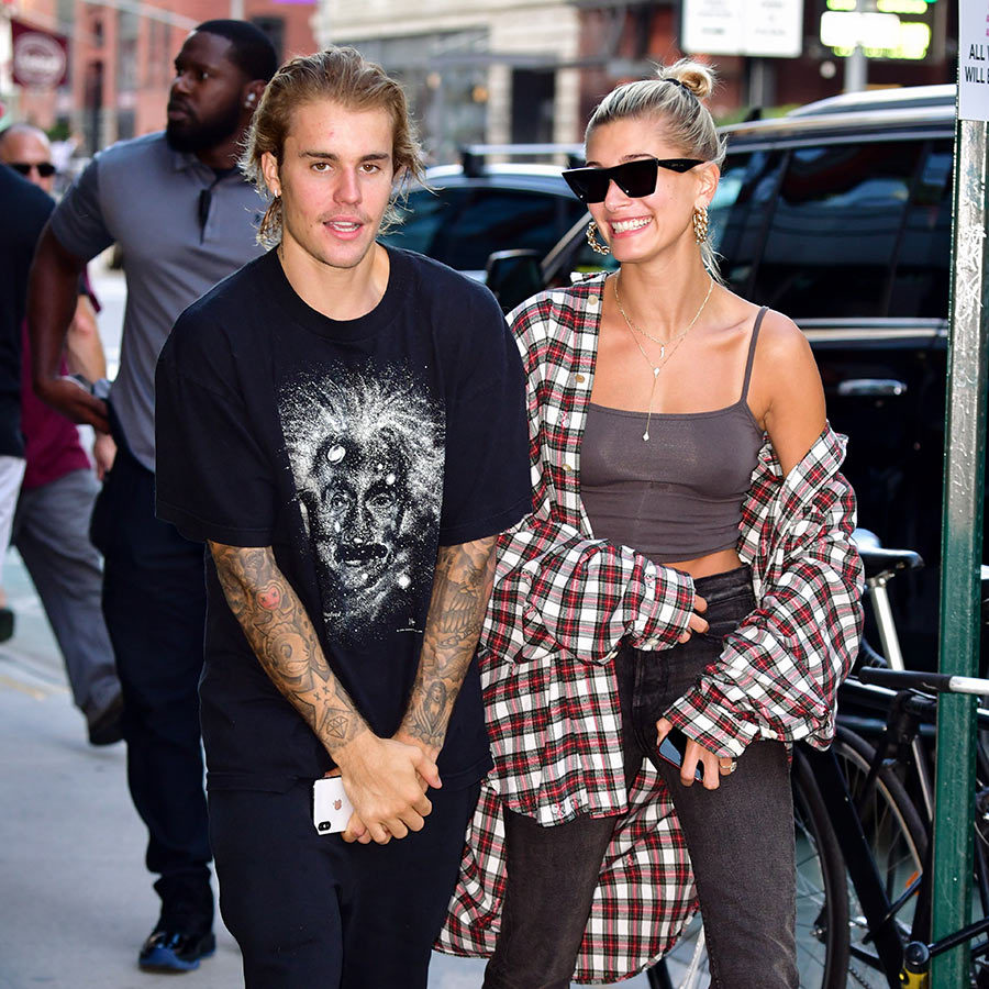 Justin debuted his new, slightly shorter locks out on the street after the couple's loved-up appearance at the SoHo salon. Things are looking up for the pair, who were photographed crying for undisclosed reasons while riding Citi Bikes and eating in TriBeca on Aug. 7.
