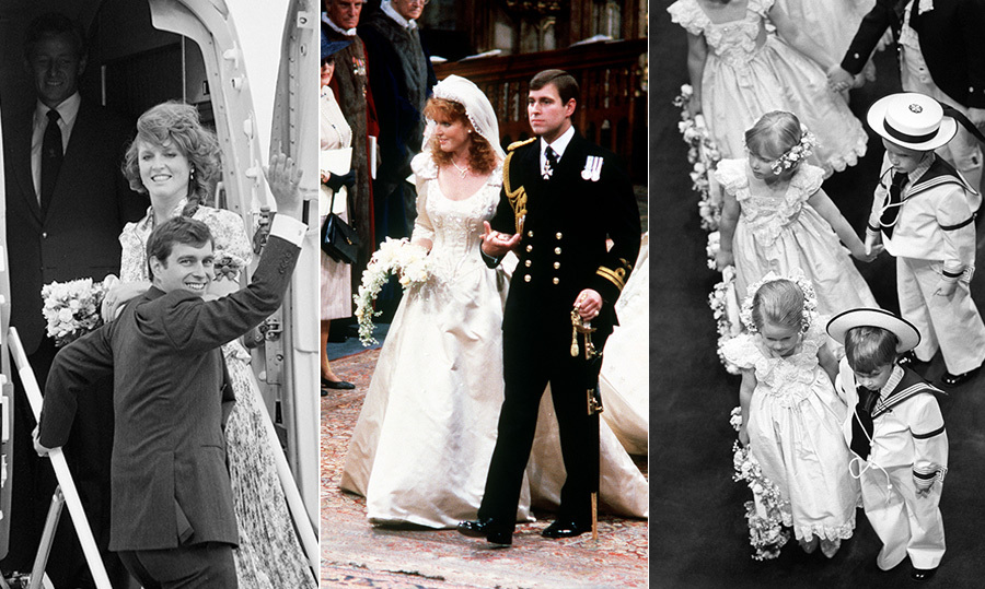 "In 1986, one of the most lavish royal weddings took the world by storm – and it wasn't that of <a href=""https://ca.hellomagazine.com/tags/0/princess-diana""><strong>Princess Diana</strong></a> and <a href=""https://ca.hellomagazine.com/tags/0/prince-charles""><strong>Prince Charles</strong></a>, which took place five years earlier. <a href=""https://ca.hellomagazine.com/tags/0/prince-andrew""><strong>Prince Andrew</strong></a> and <a href=""https://ca.hellomagazine.com/tags/0/sarah-ferguson"">Sarah Ferguson</strong>, who became the Duke and Duchess of York, exchanged vows in a beautiful ceremony at Westminster Abbey. The dress, the bridesmaids, the pageboys and the tender moments made this day – July 23, 1986 – one that went down in royal wedding history, despite sadly ending in divorce in 1996.