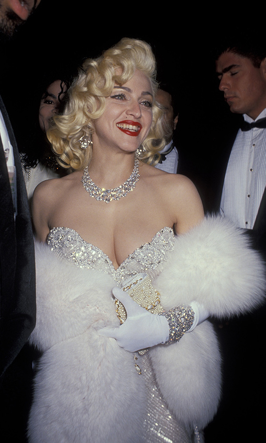 <strong>Who was Madonna's date at the 1991 Oscars?</strong><br>