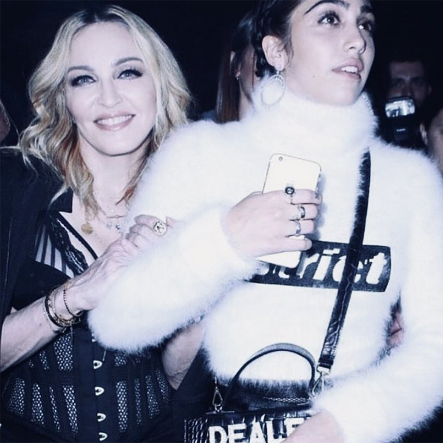 <strong>What was the name of the clothing line Madonna and daughter Lourdes launched together?</strong><br>
