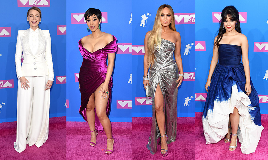 The 2018 Video Music Awards took over Radio City Music Hall on Monday (Aug. 20) to honour some of music's most exciting stars, including Video Vanguard Award winner Jennifer Lopez. Presenters like Madonna and Millie Bobby Brown and performers like Cardi B were dressed to impress on the pink carpet. Click through to see all the best looks...
