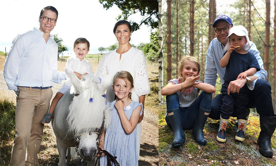 "The Swedish Royal Family loves spending summers at Solliden Palace in Öland, an island filled with cottages and campsites. Here, they get back in touch with nature, from hiking in the woods to horsing around, and <a href=""/tags/0/princess-victoria/"">Crown Princess Victoria</a> and <a href=""/tags/0/prince-daniel/"">Prince Daniel</a> were all too happy to share an intimate glimpse into their holiday with fans. Much <a href=""https://ca.hellomagazine.com/royalty/02017011332278/kate-middleton-shows-off-photography-skills/1"">like the Duchess of Cambridge</a>, the proud parents got behind the camera to capture precious moments with their children, six-year-old <a href=""/tags/0/princess-estelle/"">Princess Estelle</a> and two-year-old <a href=""/tags/0/prince-oscar/"">Prince Oscar</a>, before they headed back to Stockholm for their <a href=""https://ca.hellomagazine.com/royalty/02016090229179/royals-on-their-first-day-of-school/2"">daughter's first day of school</a> on Aug. 21. Click through to see all the sweet summer snaps..."