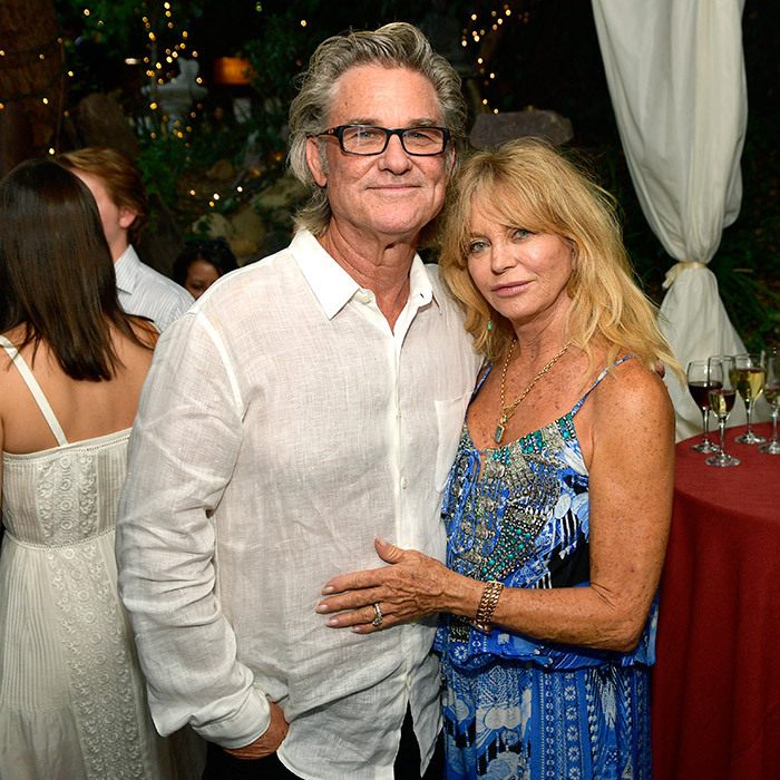 Kurt Russell and Goldie Hawn enjoyed a stylish date night for the <em>Wild Wild Country</em> Filmmaker Toast on Aug. 4.
