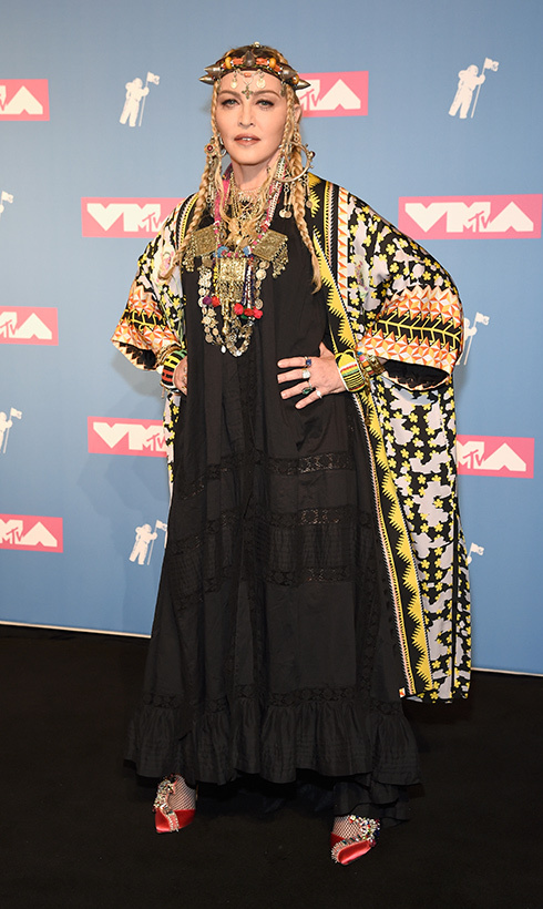 Madonna continued her birthday celebrations at the MTV Video Music Awards. The star, who just turned 60, took to the stage that night to present the award for Video of the Year.