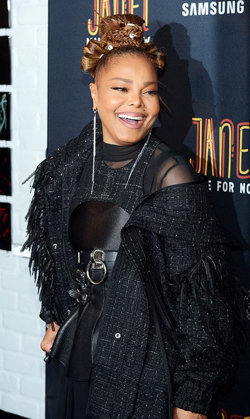 "Janet Jackson is back in business! The iconic singer just released her new single with Daddy Yankee, ""Made for Now,"" which she celebrated at a release party in NYC.