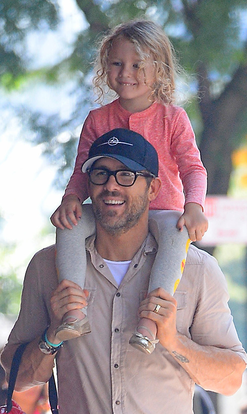 Ryan Reynolds and Inez make the sweetest father-daughter duo!