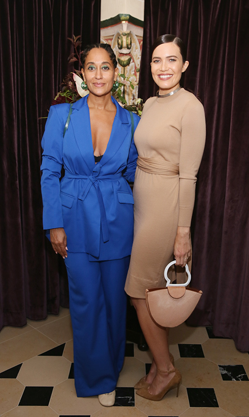 #GirlSquad! Tracee Ellis Ross and Mandy Moore made a stylish duo at a party celebrating excellence in television costume design!