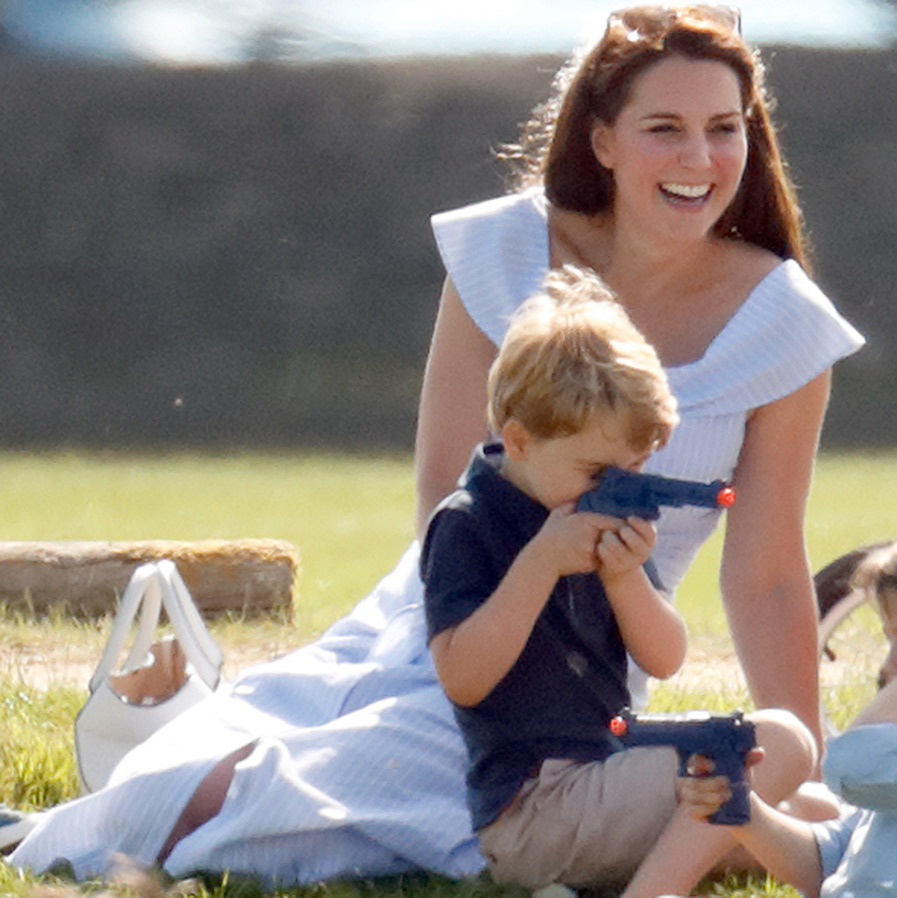 Kate took Prince George on his first grouse hunt in Balmoral