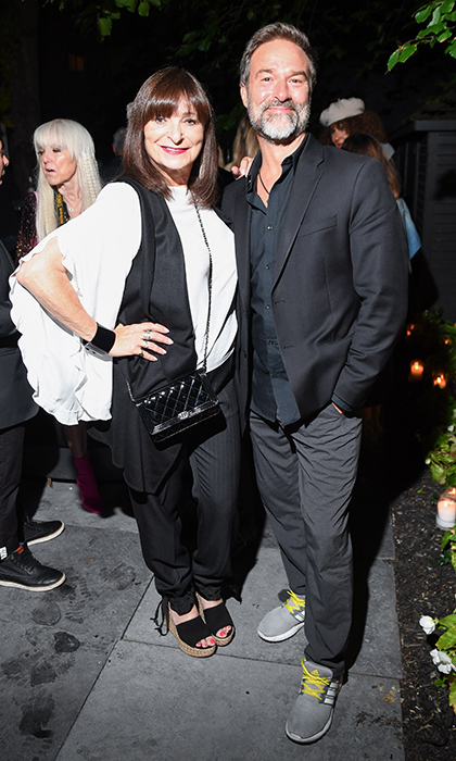 Jeanne Beker and Paul Alexander