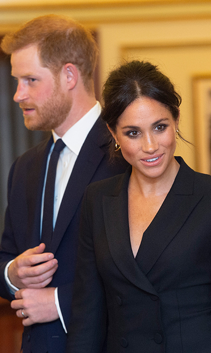 The duchess rocked a smoky eye, a simple pink lip and a bit of bronzer to enhance her summer glow. Her beloved freckles were perfectly on display!