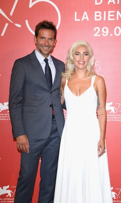 <strong>Bradley Cooper and Lady Gaga</strong>