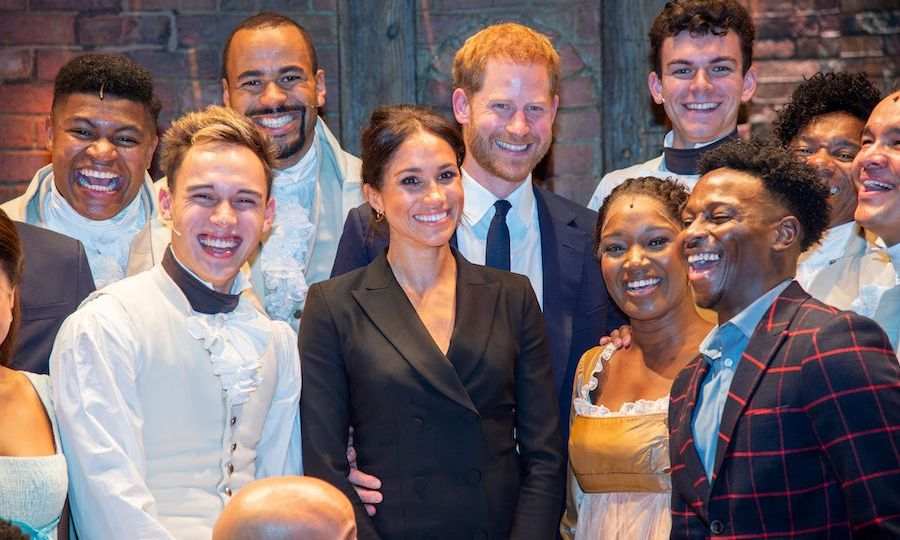 "While the <strong><a href=""/tags/0/prince-harry"">Duke</a></strong> and <strong><a href=""/tags/0/meghan-markle"">Duchess of Sussex</a></strong> were posing for a group photo with the cast of <a href=""/tags/0/hamilton""><strong><i>Hamilton</i></a></strong>, Meghan let slip a sweet nickname she has for her husband. Worried that she was blocking him in the photo, she asked, ""Can you see, my love?"" 