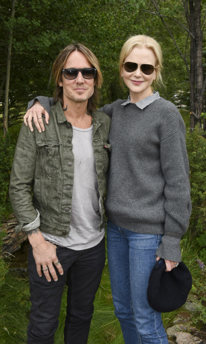 Nicole Kidman and Keith Urban looked cool and cozy on the opening day of the Telluride Film Festival in Colorado. The Oscar winning actress is showing two films at the fest, the gritty drama <i>Destroyer</i> and <i>Boy Erased</i>, both of which are screening at this month's Toronto International Film Festival (Sept. 6-`16).  