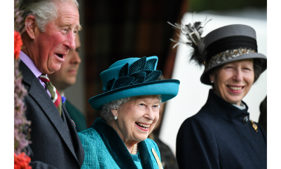 While the Queen, seen here sharing a laugh with Prince Charles and Princess Anne, has been a spectator at the Braemar Gathering since she was a little girl, the event actually dates back to the 1700s and has been regularly attended by a monarch since 1848. 