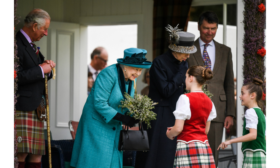 The Queen ushered in September at the Braemar Gathering in Scotland. The annual tradition sees members of the Royal Family, particularly the Queen, kick back and relax as they watch a host of revelries, including caber toss, tug-of-war, relay races and other highland activities. Joining Her Majesty at the event were her children Prince Charles and Princess Anne and her son-in-law Timothy Laurence. 