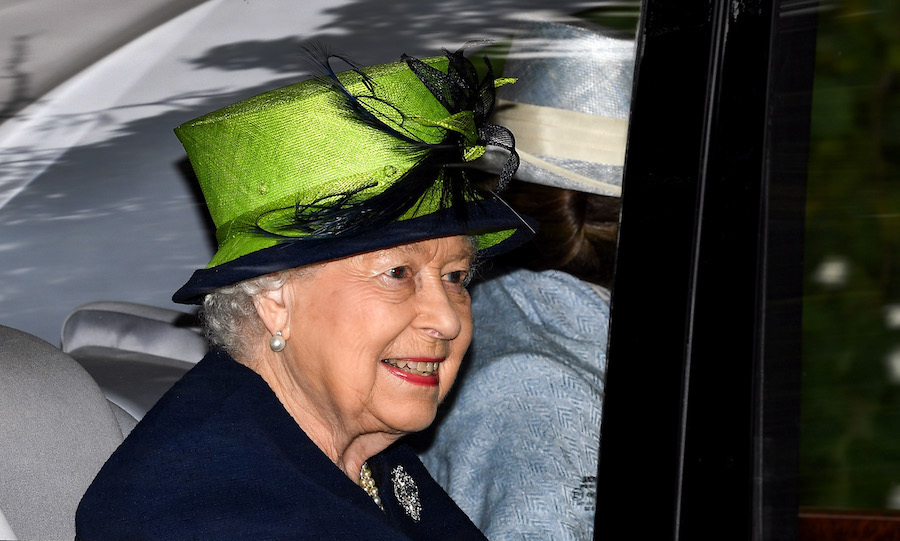 The Queen looked lovely in navy and a bright lime green hat as she departed from Crathie Kirk Church near her Balmoral estate on Sunday (Sept 2). The monarch attended the service with Princess Anne and Prince Charles, both of whom joined their mother at the Braemar Gathering the previous day. 