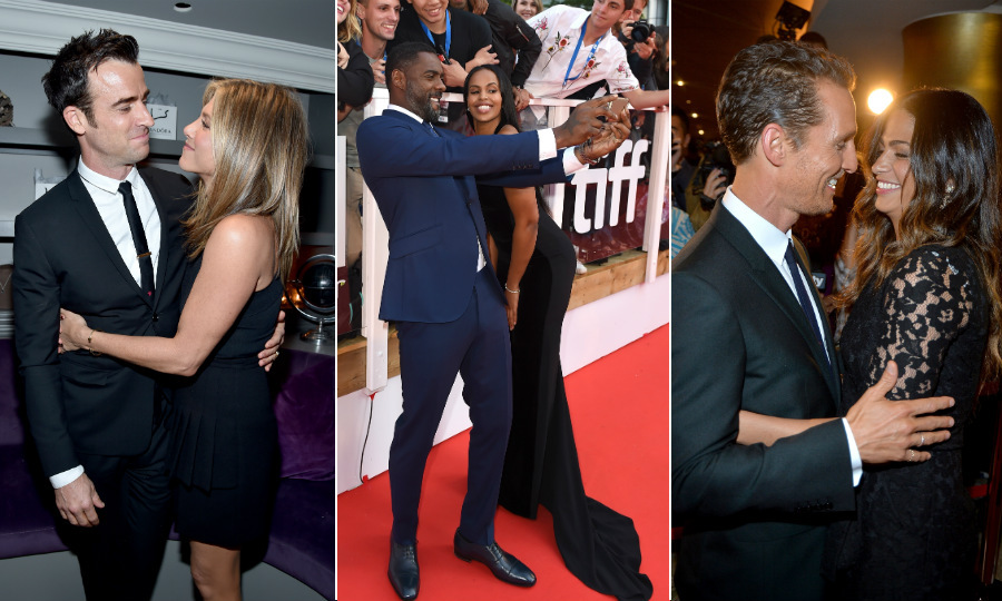 "Films may be the main attraction at the <strong><a href=""https://ca.hellomagazine.com/tags/0/tiff"" target=""_blank"">Toronto International Film Festival</a></strong> but when it comes to red carpet highlights, celebrity couples always steal the show. 