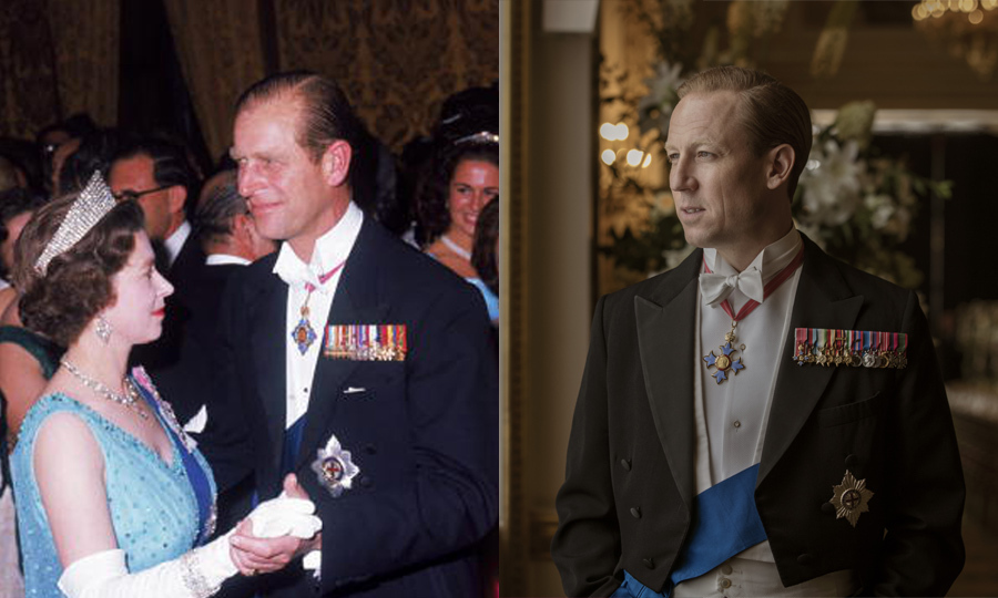 <h2>Prince Philip, played by Tobias Menzies</h2>