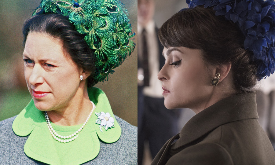 <h2>Princess Margaret, played by Helena Bonham Carter</h2>
