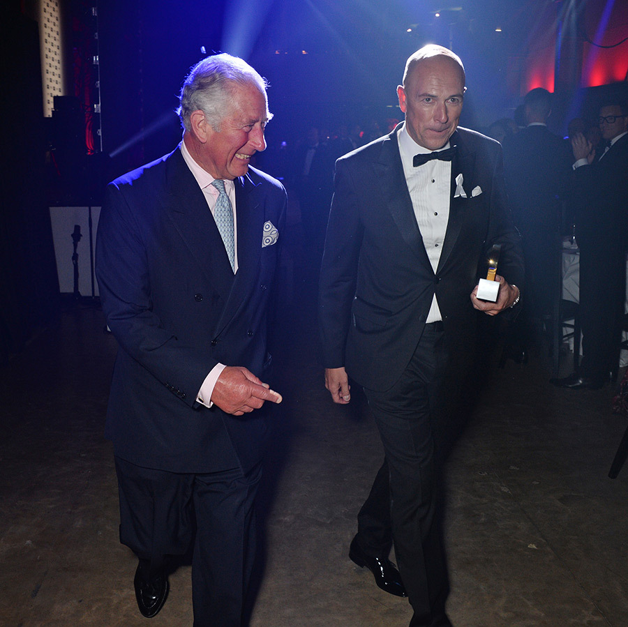 The GQ Men of the Year Awards had more than star power in 2018 - they had royal power, too! Prince Charles was one of many A-list guests who descended on the Tate Modern in London on Sept. 5 to honour everyone from Naomi Campbell and Elisabeth Moss to the prince himself, who received accolades for his charity work from GQ editor Dylan Jones. 