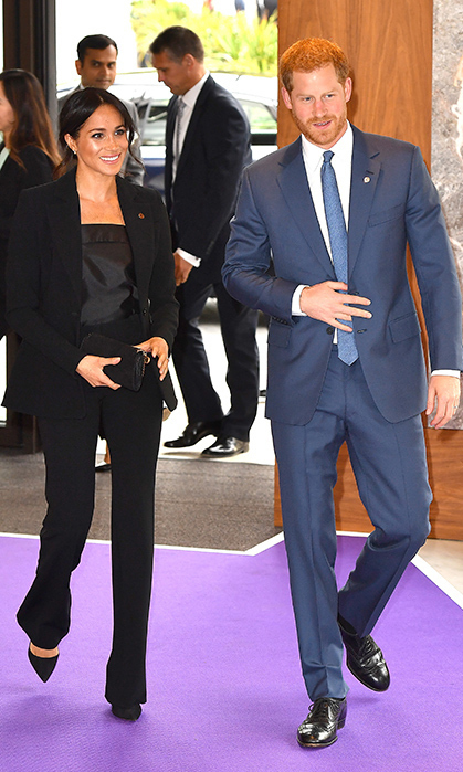 Prince Harry and Meghan Markle made their post-summer debut with an appearance at the WellChild Awards, a ceremony that celebrates inspiring children who are dealing with serious illness.