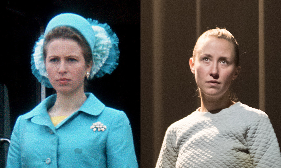 <h2>Princess Anne, played by Erin Doherty</h2>