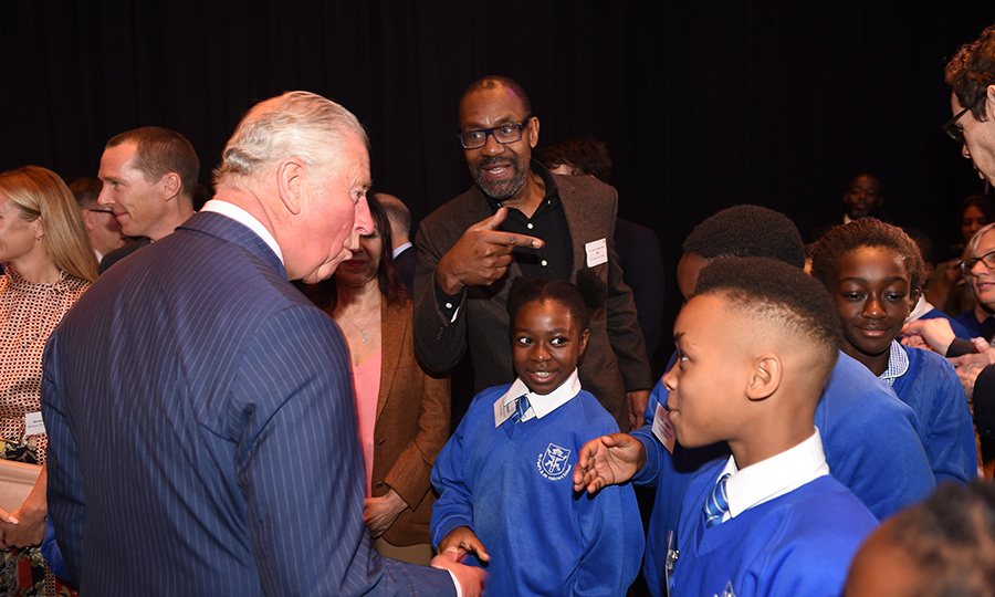 Prince Charles attended an event at the Royal Albert Hall and spent time discussing arts and creativity in schools. The Prince of Wales is a patron of Children & the Arts.