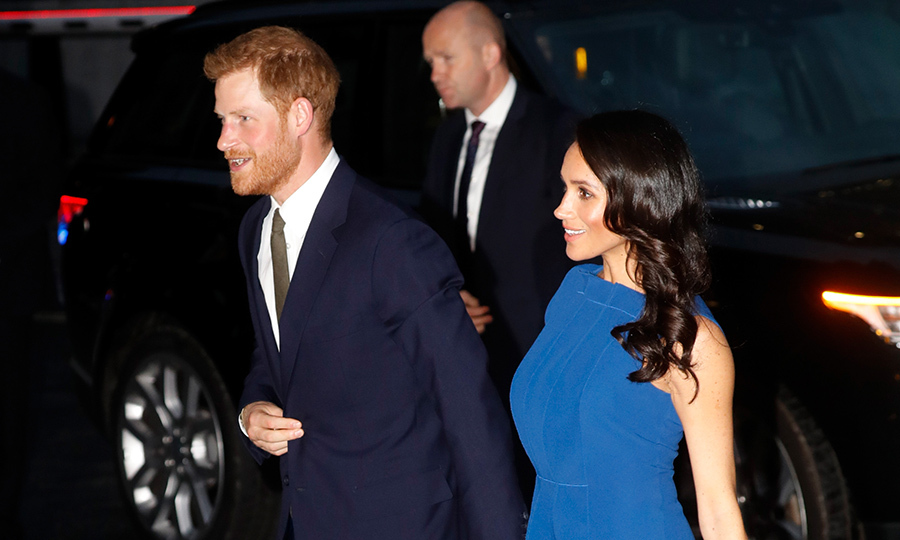 "The <a href=""/tags/0/prince-harry-and-meghan/"">Duke and Duchess of Sussex</a> are out again, for yet another good cause close to both of their hearts. Looking stylish as ever, the loved-up duo arrive hand-in-hand to the 100 Days to Peace music gala, an event which aims to support mental health-related causes, specifically veterans with PTSD.