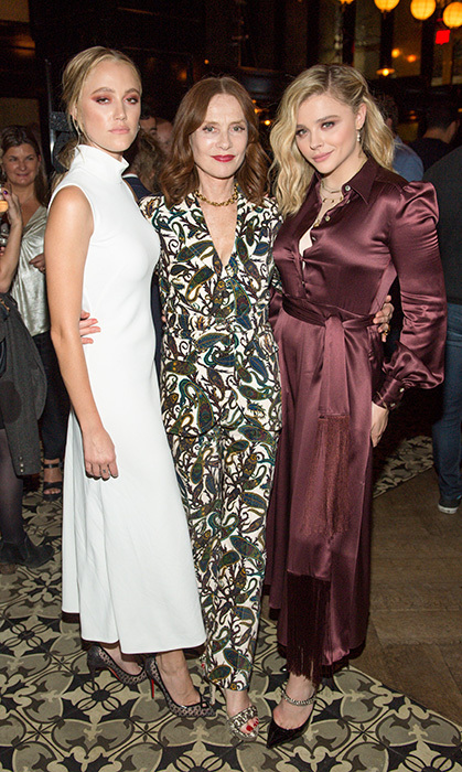 <em>Greta</em> stars Maika Monroe, Isabelle Huppert and Chloe Grace Moretz descended on Weslodge for their lavish after-party. Later that night, Chloe and Maika hit Soho House and broke it down on the dance floor to some Destiny's Child.