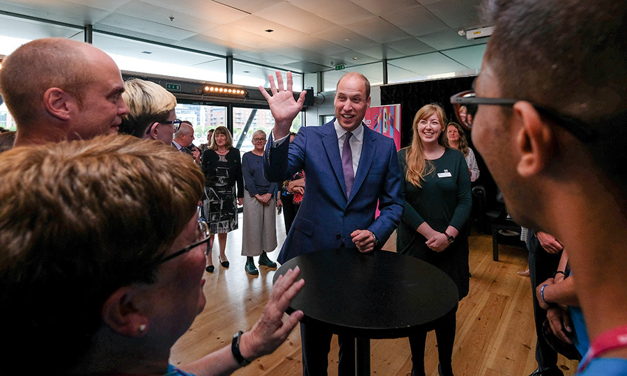 Hi, Prince William! The Duke of Cambridge attended a reception at the Baltic Centre for Contemporary Arts on Sept. 7. The reception was held to celebrate and acknowledge all those who have been involved in making the Great Exhibition happen.