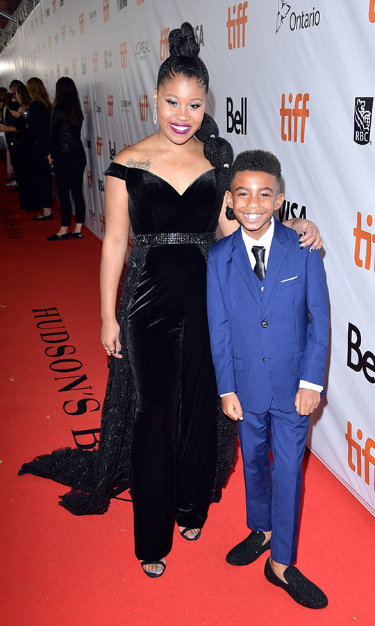 <h2>Dominique Fishback and TJ Wright</h2>
