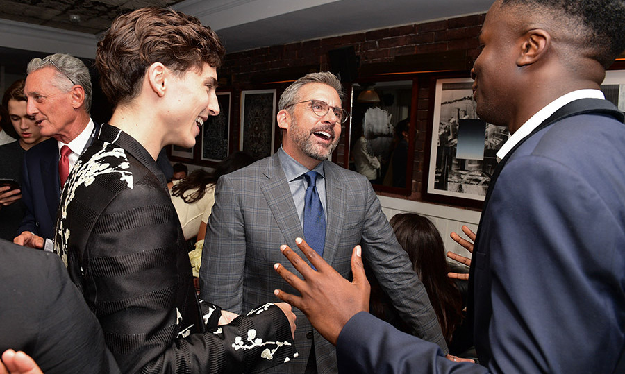 Steve and Timothee shared a laugh at the Soho House shindig!