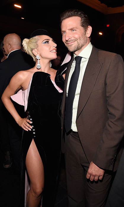 Lady Gaga and Bradley Cooper looked like BFFs at their film's after party!