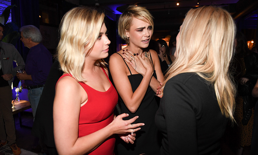 Ashley Benson and Cara Delevingne looked every inch the couple at RBC House on Sept. 9.