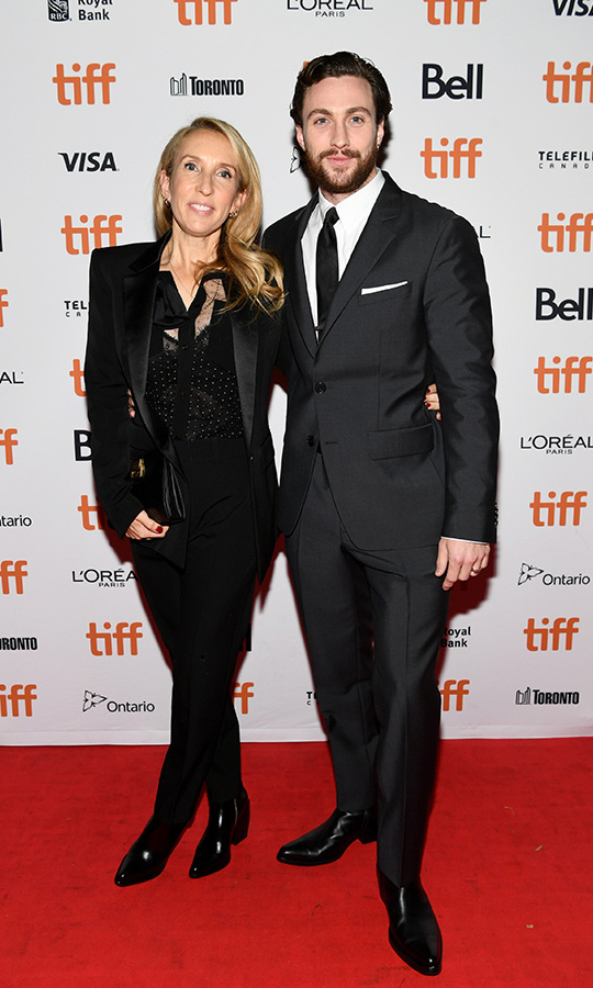 <h2>Sam Taylor-Johnson and Aaron Taylor-Johnson</h2>