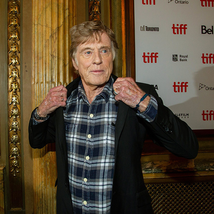 Robert Redford looked cool as ever at the premiere of his crime comedy <em>The Old Man & the Gun</em> on Sept. 10.