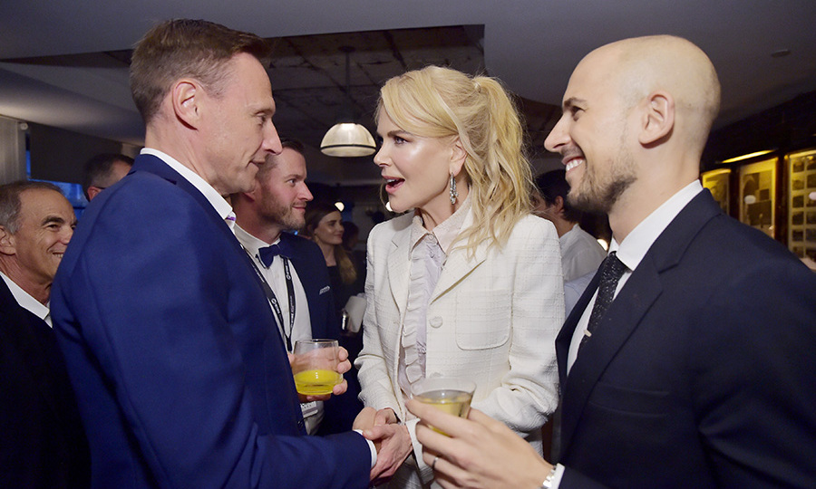 Soho House Toronto played host to a Grey Goose-sponsored cast dinner for Nicole Kidman and her co-stars in <em>Destroyer</em>, where the actress chatted animatedly with producer Fred Berger.