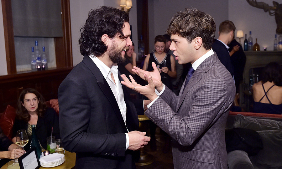 Kit later caught up with the film's writer and director, Xavier Dolan, at their Soho House party. 
