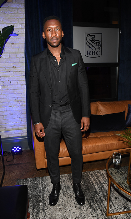 Mahershala Ali looked dapper as ever at RBC House's cocktail party for his film <em>Green Book</em>.