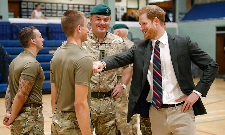 Wherever he goes, the charismatic prince always brings that Harry humour with him!