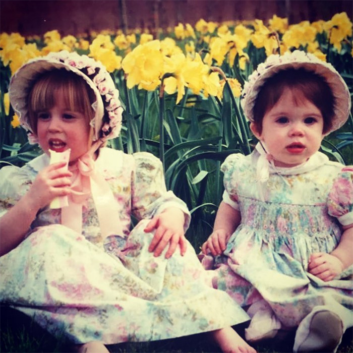 "Easter means egg hunts, chocolate and the sweetest of throwbacks from the Royal Family's most beloved princess sisters. She captioned the snap: ""Happy Easter from the York sisters! Celebrating Easter in a bonnet since 1992...""