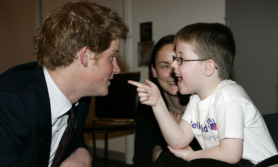 The royal has been attending the WellChild Awards for many years! In 2007, he shared a sweet moment with award winner Christopher Anderson.