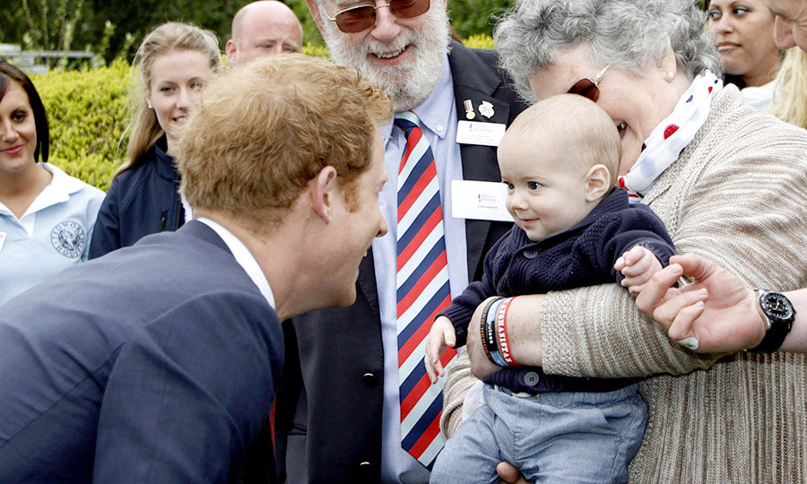 While visiting Tedworth House in 2013, Prince Harry made a little boy smile.