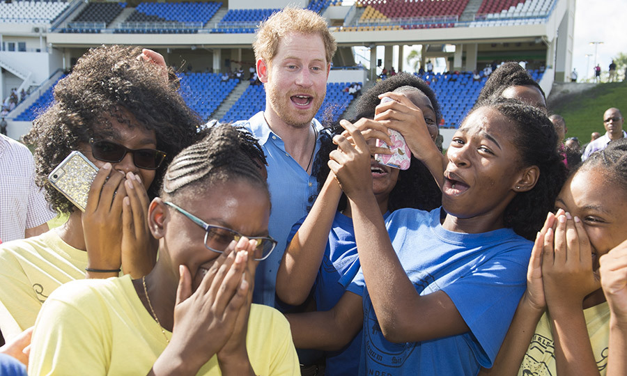 During a 2016 visit to Antigua, Prince Harry clearly said something hilarious!
