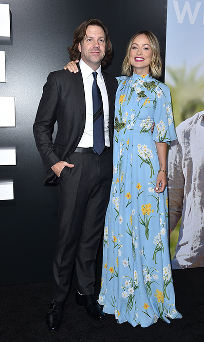 Jason Sudeikis and Olivia Wilde looked happy as ever to be attending the premiere of <em>Life Itself</em>.