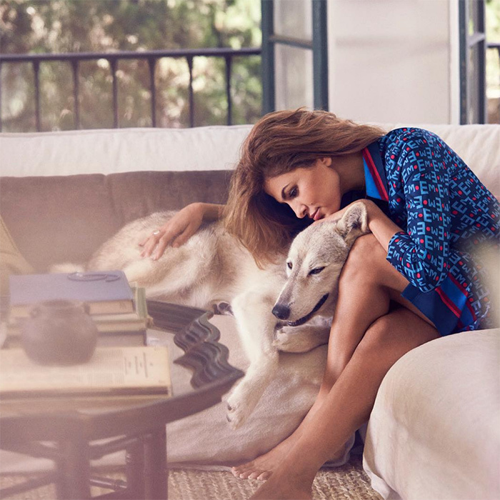 "Eva Mendes teased an upcoming short film with a stunning photo of her and a husky. She captioned the snap: ""Here's a still from our short film (more on that later). Tonight we celebrate our September collection and 5 year anniversary with our runway show. Proceeds from the Best Friend Tee (my favorite piece!!) will go to Cesar Milan's <em>Pack Project</em> supporting our furry friends.""