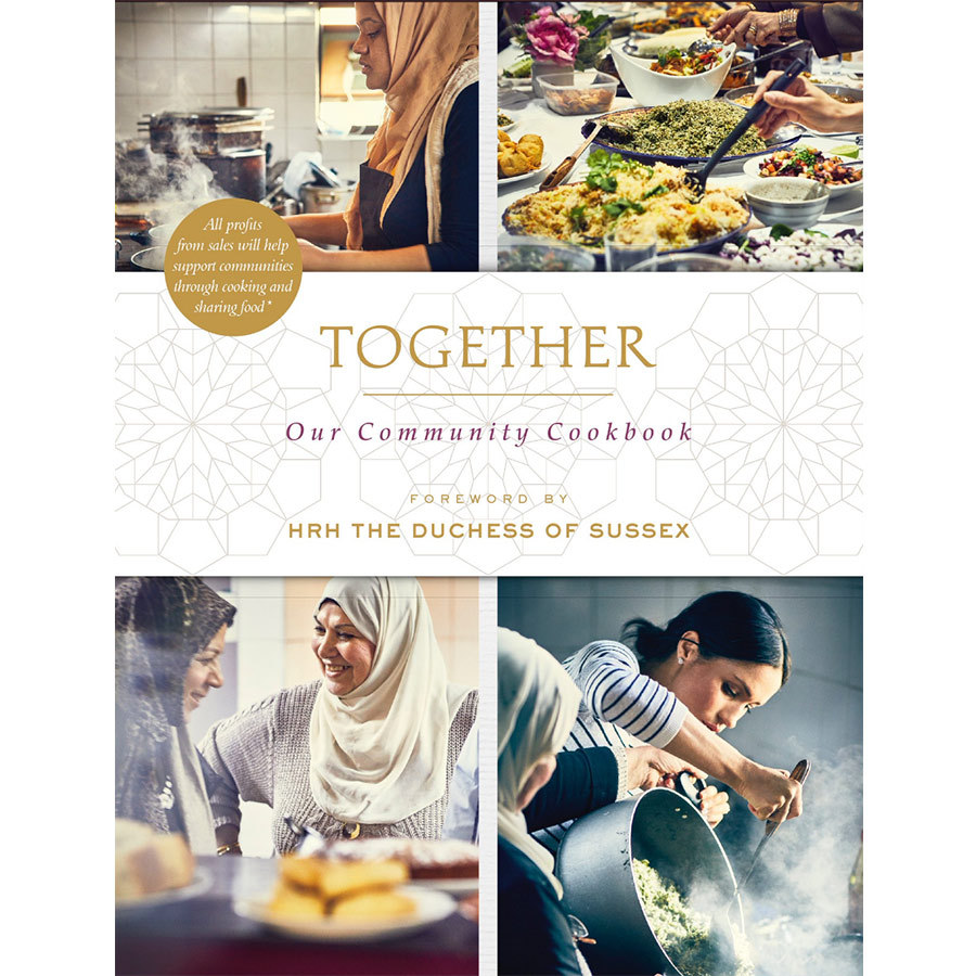 The gorgeous cover of the cookbook